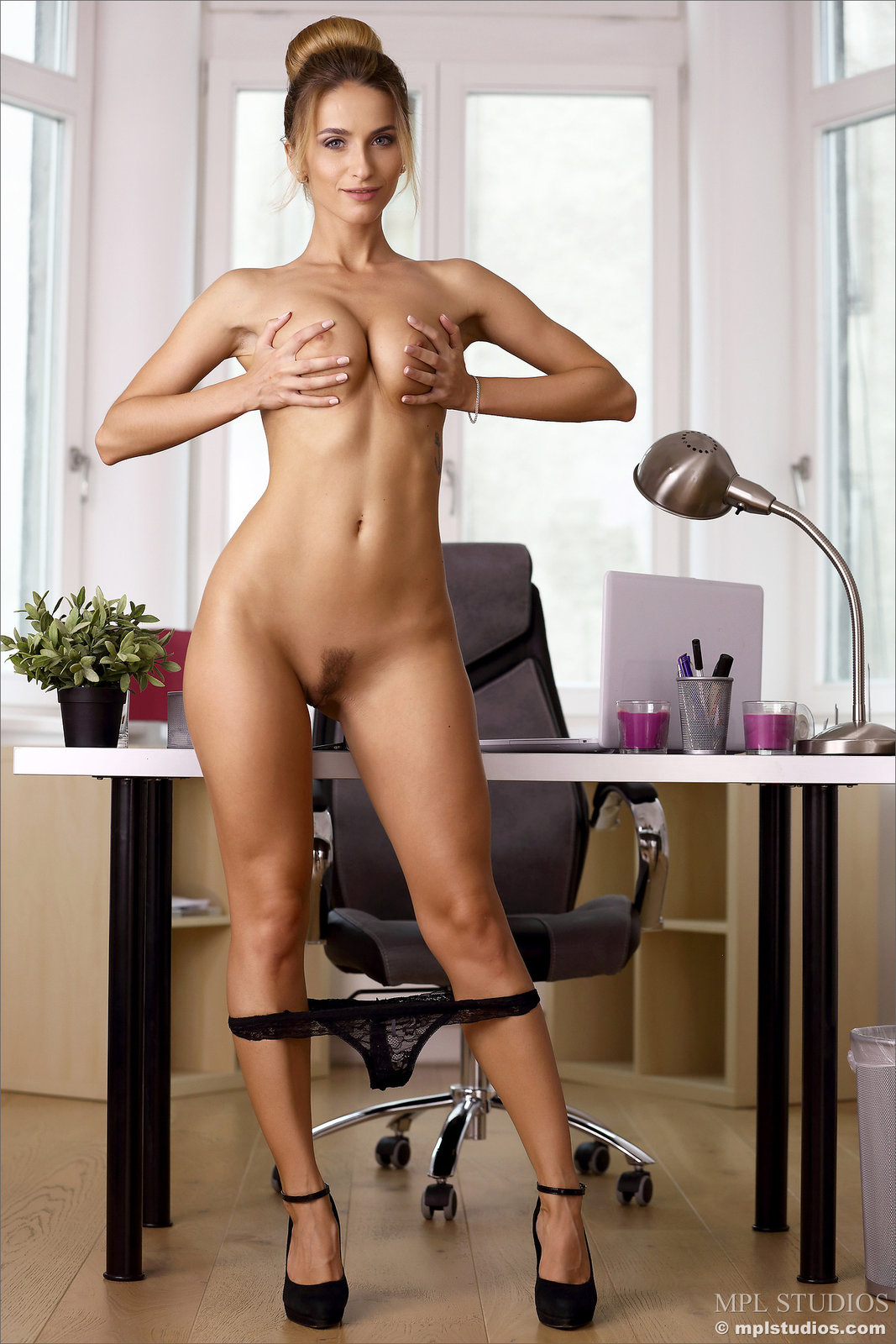 Cara Mell in Office Girl by MPL Studios (16 photos ...
