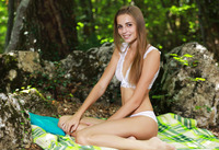 Elle in Freedom In The Forest by MPL Studios (nude photo 1 of 12)