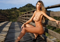 Claudia in On The Bridge by Photodromm (nude photo 7 of 12)