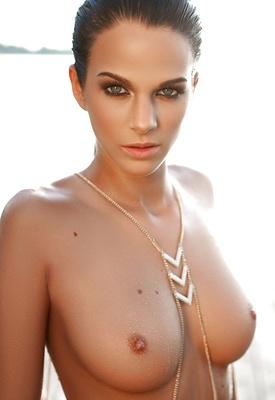 16 Pics & Free Video: Sophie in Sundown by Playboy Plus