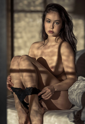 12 Pics & Free Video: Sophie Limma in Shadow Secrets by Playboy Plus