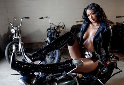 12 Pics & Free Video: Harley Dean in Biker Chic by Playboy Plus