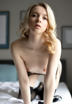 Emmi In Stockings at Perfect Naked