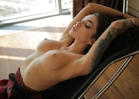 Megan in Upskirt Tease by StasyQ (nude photo 9 of 16)