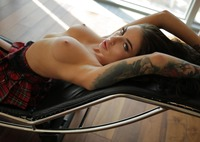 Megan in Upskirt Tease by StasyQ (nude photo 11 of 16)