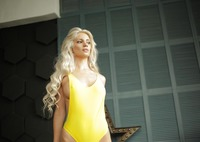 Marbella in Yellow Bodysuit by StasyQ (nude photo 4 of 15)
