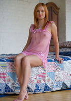 Nikky B in Pink Nighty by Stunning 18 (nude photo 1 of 16)