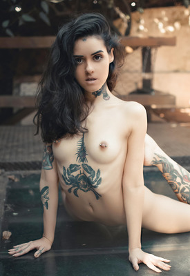 12 Pics: Adriella in Daydreaming by Suicide Girls