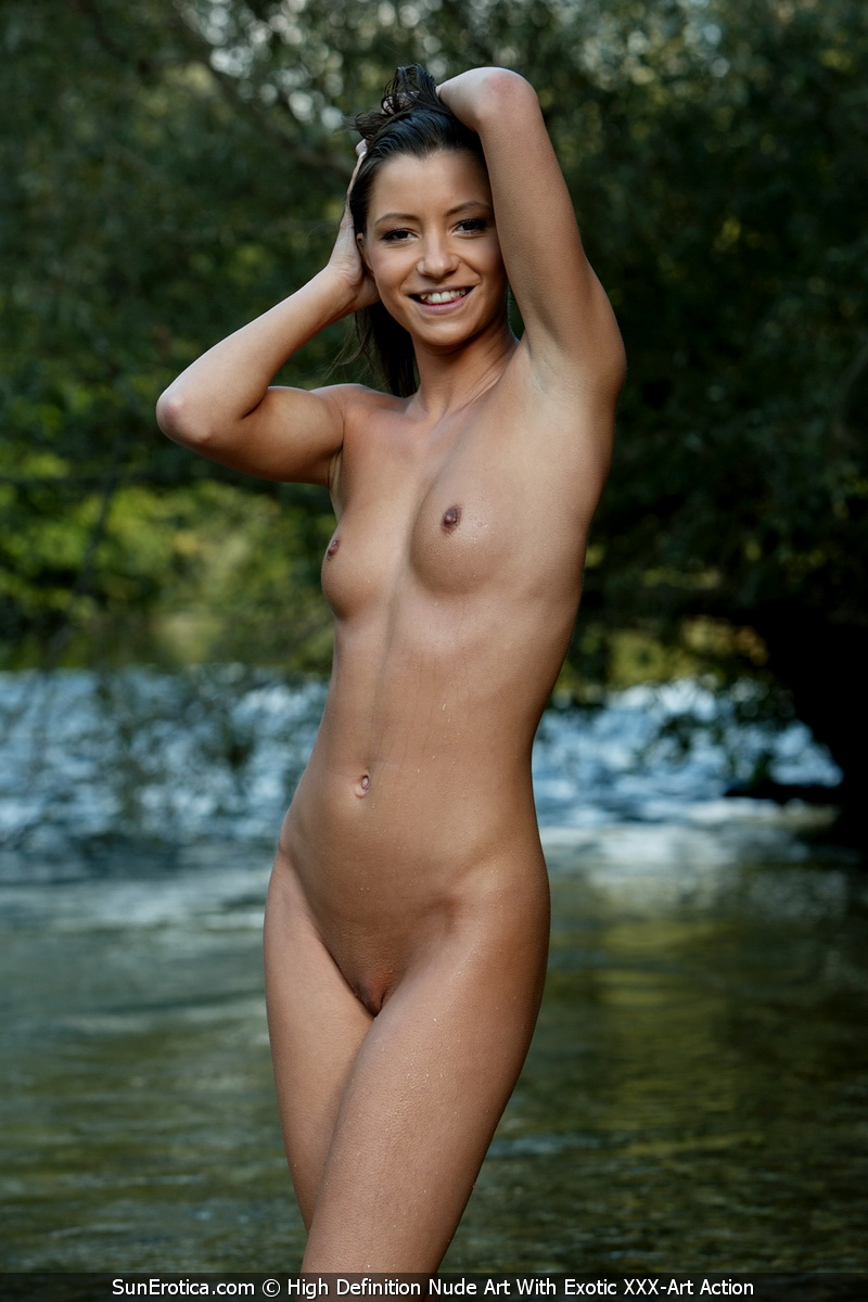 Sexy Little Gina Shows Off Her Beautiful Nude Body -1955