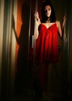 Sonya S in Crimson Wet (nude photo 1 of 16)