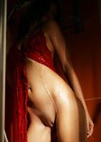 Sonya S in Crimson Wet (nude photo 11 of 16)