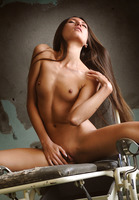 The Life Erotic model Saju A in Sex Chair (nude photo 2 of 16)