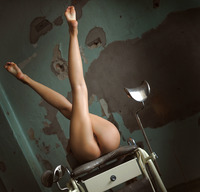The Life Erotic model Saju A in Sex Chair (nude photo 12 of 16)