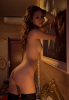 Olya Fey in Black Stockings by The Life Erotic (nude photo 5 of 16)