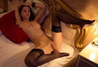 Olya Fey in Black Stockings by The Life Erotic (nude photo 10 of 16)