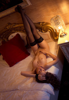 Olya Fey in Black Stockings by The Life Erotic (nude photo 14 of 16)