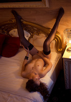 Olya Fey in Black Stockings by The Life Erotic (nude photo 16 of 16)