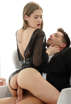 16 Pics & Free Video: Tiffany Tatum on her knees blowing and taking dick in erotic scene