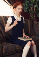 Dolly Little in Studying Herself Hard by This Years Model (nude photo 2 of 15)