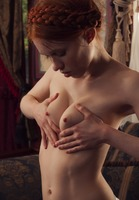 Dolly Little in Studying Herself Hard by This Years Model (nude photo 10 of 15)