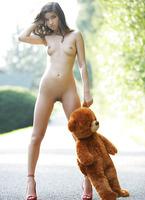 Nika in Bear (nude photo 9 of 16)