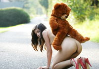 Nika in Bear (nude photo 14 of 16)