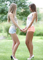 Abby & Maria in Hot Touches (nude photo 2 of 16)