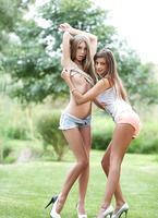 Abby & Maria in Hot Touches (nude photo 6 of 16)