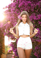 Maria in Lots of Flowers by Watch4Beauty (nude photo 1 of 16)