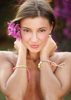 Maria in Lots of Flowers by Watch4Beauty (nude photo 6 of 16)