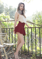 Milla Azul in Under The Skirt by Watch4Beauty (nude photo 1 of 16)