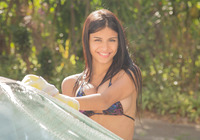 Denisse Gomez in Car Wash by Watch4Beauty (nude photo 3 of 16)