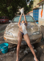 Denisse Gomez in Car Wash by Watch4Beauty (nude photo 12 of 16)