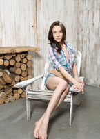 Olyvia in Wooden Design by Watch4Beauty (nude photo 1 of 16)