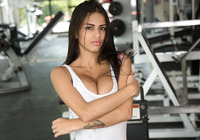 Denisse Gomez in Fun In The Gym by Watch4Beauty (nude photo 3 of 16)