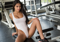 Denisse Gomez in Fun In The Gym by Watch4Beauty (nude photo 5 of 16)