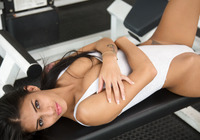 Denisse Gomez in Fun In The Gym by Watch4Beauty (nude photo 7 of 16)