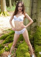 Li Moon in Forest by Watch4Beauty (nude photo 1 of 16)