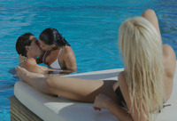 Gianna & Baby in Pool Party For Three (nude photo 4 of 16)
