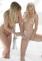 Kenna & Alex Grey in Dangerous When Wet (nude photo 7 of 16)