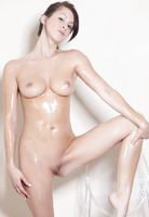 Oiled Up Beauty Kat (nude photo 3 of 16)