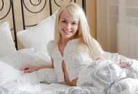 Petite erotic teen Katy in pajamas (nude photo 3 of 17)