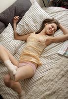 Sasha Between the Sheets (nude photo 1 of 16)