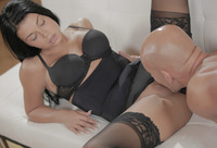 Gianna in Black Lace Bliss by X-Art (nude photo 7 of 16)
