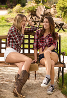 Kenna James and Madi Meadows in Sexy Summer Camp by X-Art (nude photo 1 of 16)