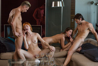 Anny Aurora and Caprice in 4-Way in 4K by X-Art (nude photo 9 of 16)