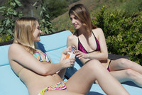 Kenna James and Kristin Scott in Fine Finger Fucking by X-Art (nude photo 2 of 16)