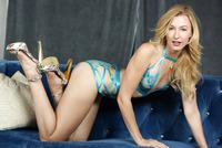 Alexa Grace in Beauty In Blue by X-Art (nude photo 2 of 16)