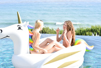 Elena Koshka and Kenna James in Sex For Three By The Sea by X-Art (nude photo 6 of 16)
