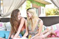 Kenna James and Elena Koshka in Fucking Hippie Chicks by X-Art (nude photo 1 of 16)